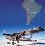 Andes to Amazon Map
