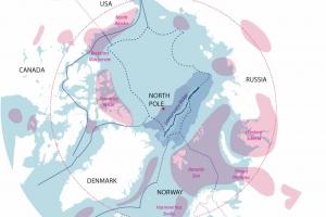 Arctic Oil Map