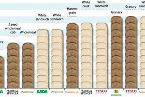 Bread Salt Chart