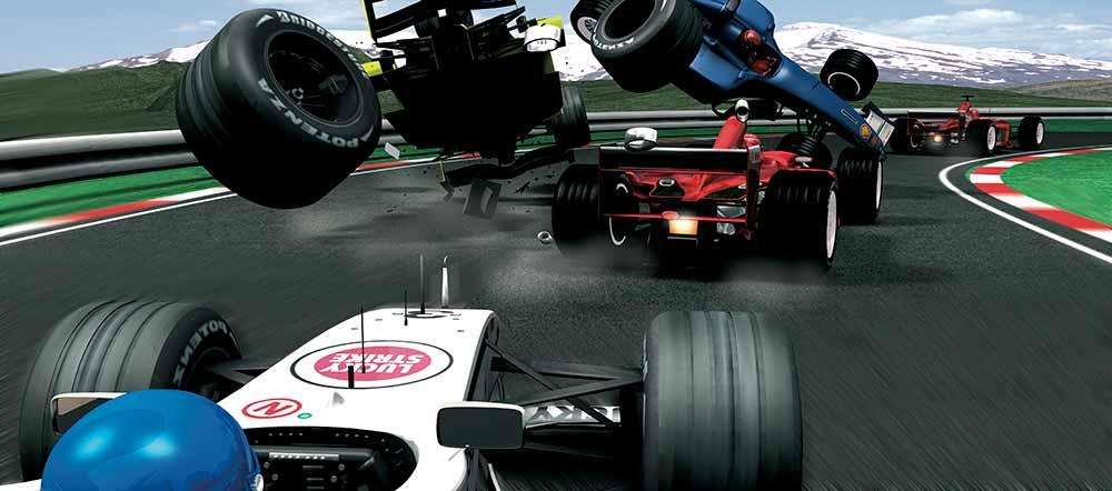 Formula Crash 2013 of a Formula 1 Crash That