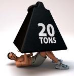 Man Lifting 20 Tons