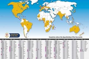 Ports Map