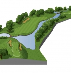 Ryder Cup 18th Hole Map