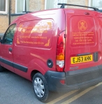 Buddhist Centre Van Graphics