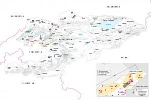 Charaat Gold Mining Map